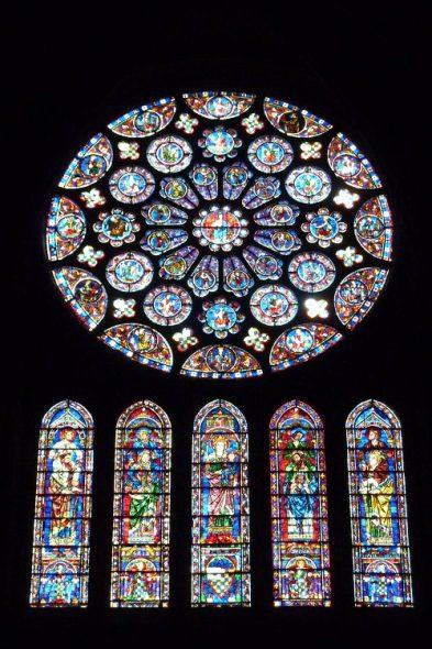 Vitraux de la cathédrale de Chartres