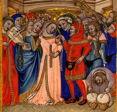 Mariage au Moyen Age