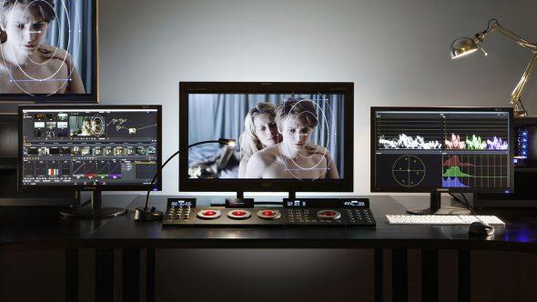 écrans avec logiciel d'étalonnage