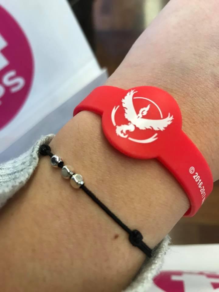 bracelet pokémon go safari