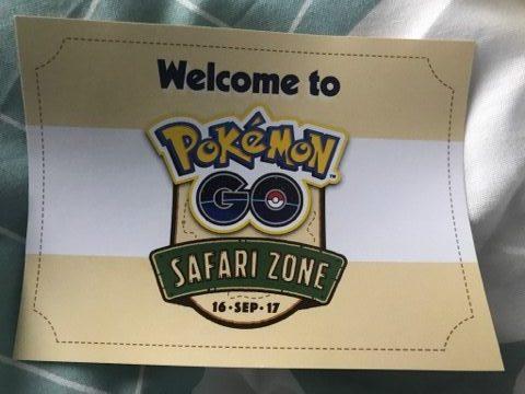Pokémon Go Safari Zone: Paris, le 16 septembre 2017