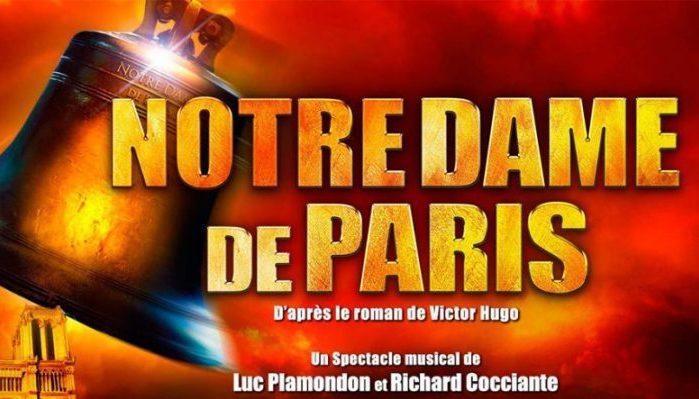 Le grand retour sur scène de la comédie musicale Notre-Dame de Paris