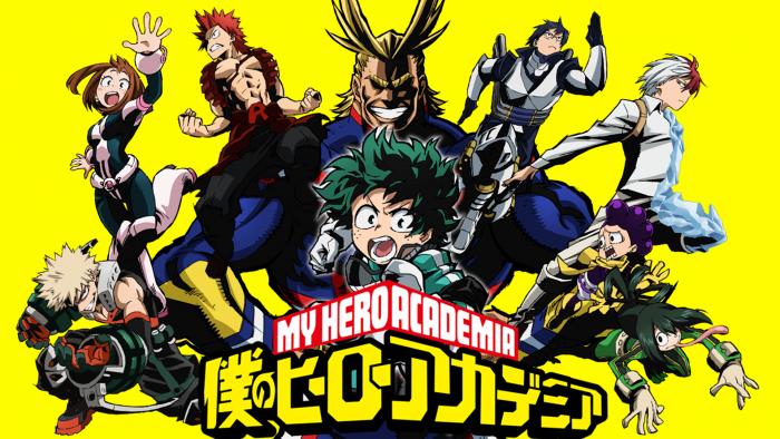 My Hero Academia: la nouvelle génération de héros