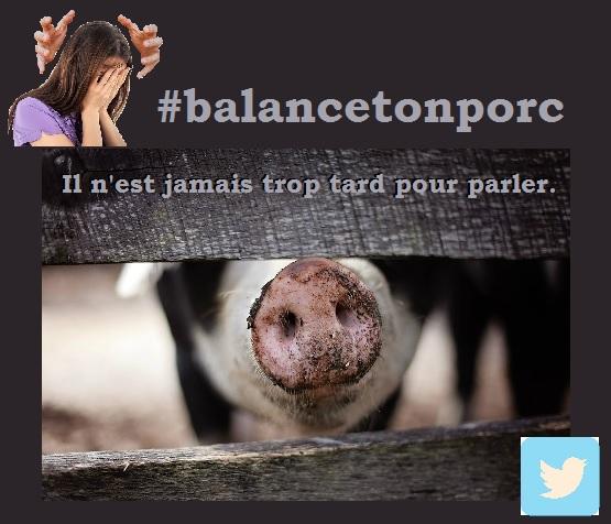 Balance ton porc : il n'est jamais trop tard pour parler