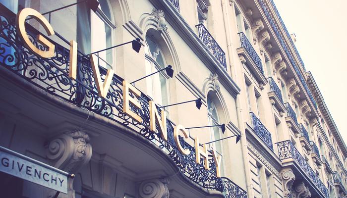 La maison de haute couture Givenchy