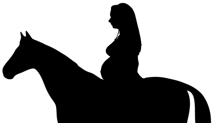 Équitation et grossesse : peut-on monter à cheval enceinte ?