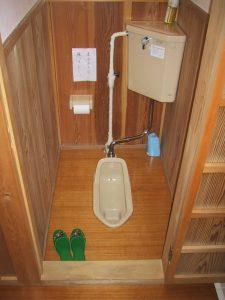 Toilettes japonaises anciennes
