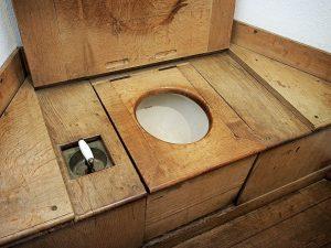 Les toilettes séches