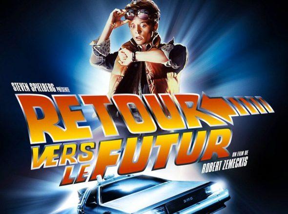 affiche de Retour vers le futur