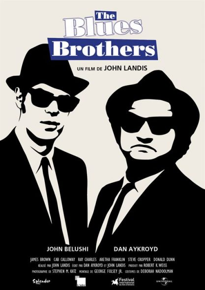 Affiche du film The Blues Brothers