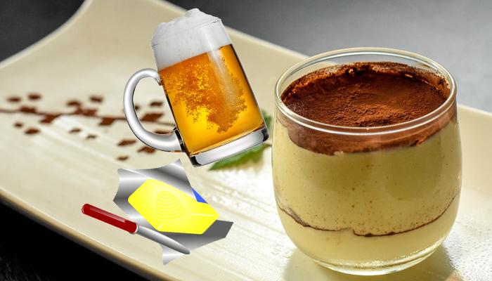 Un dessert plein de magie : le tiramisu bièraubeurre !