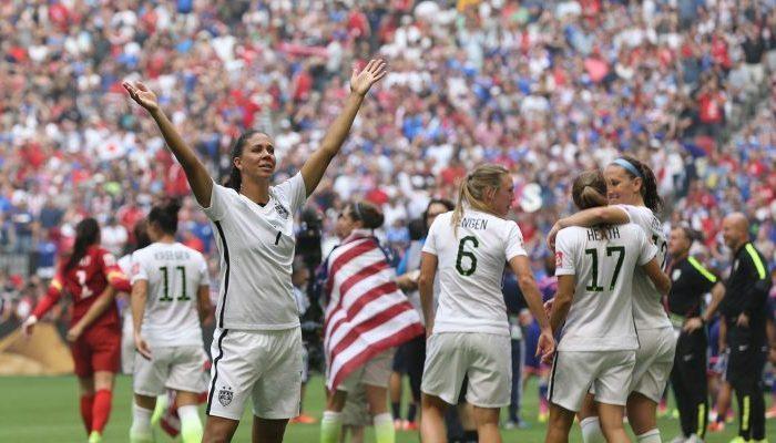 La Coupe du monde de football féminin, c'est en 2019 en France !