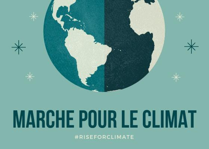 La marche pour le climat : #riseforclimate