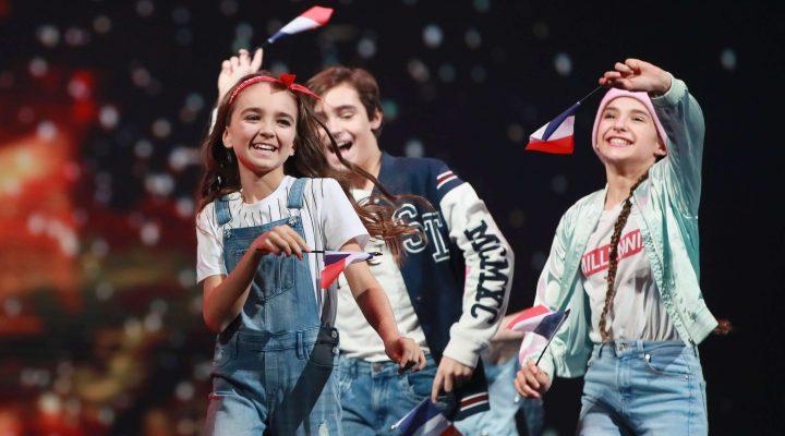 La France termine 2e à l'Eurovision junior