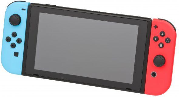 Nintendo Switch en mode portable