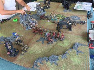 Table de jeu warhammer
