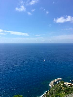 Vue mer Méditerranée