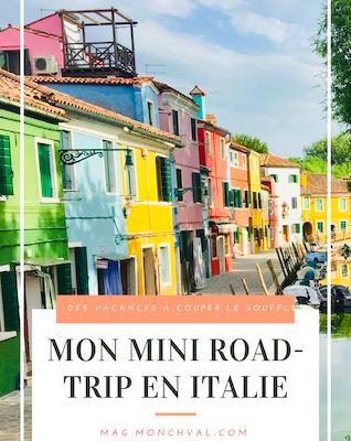 Mon mini road-trip en Italie