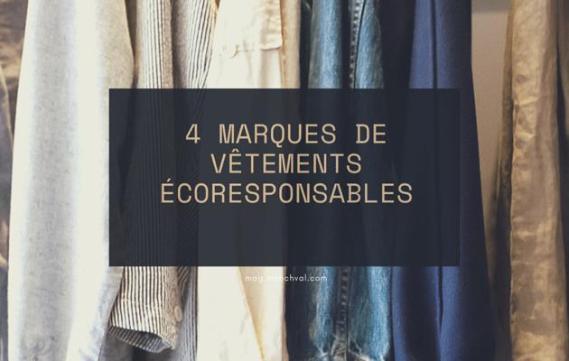 4 marques de vêtements éco-responsables