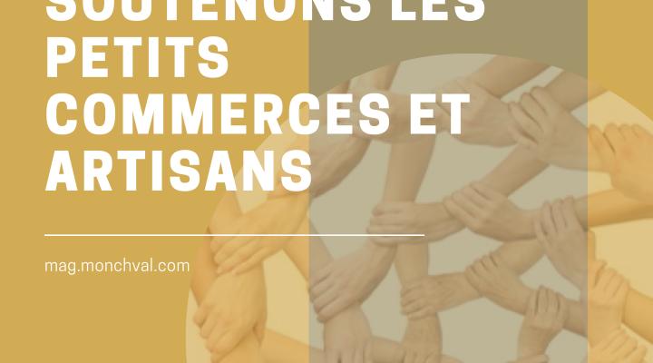 Soutenons les petits commerçants, artisans et auto-entrepreneurs