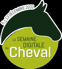 Logo semaine digitale du cheval 2020