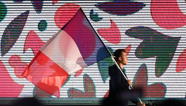 Rôle du porte-drapeau aux Jeux olympiques
