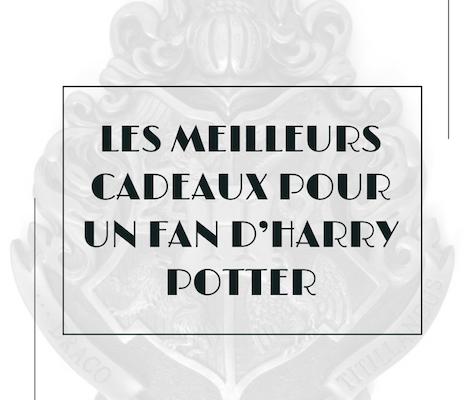 Les meilleurs cadeaux à offrir à un fan d'Harry Potter
